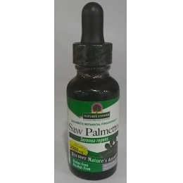美國Nature's Answer, Saw Palmetto Berry, Alcohol Free, 鋸棕櫚精華液 30ml