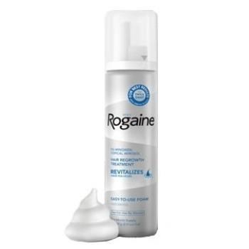 泡沫式男用落建 Rogaine 5% Minoxidil Extra Strength Foam--男性專用散裝6罐