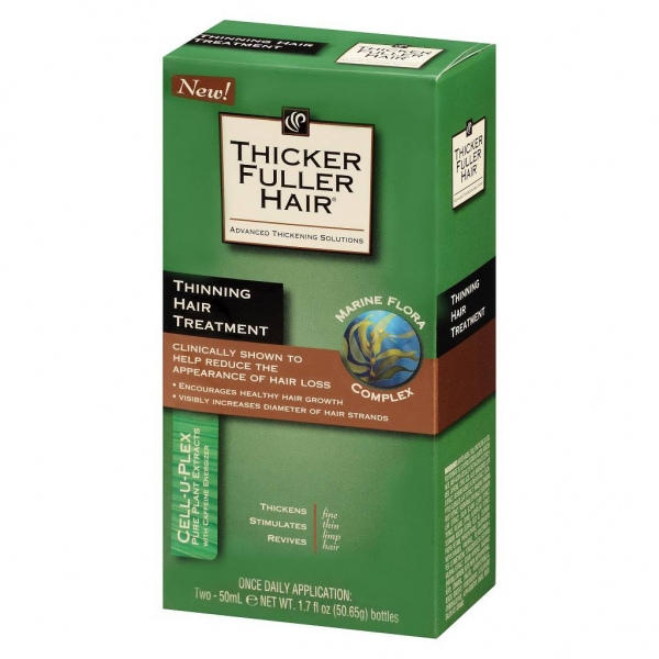 Thicker Fuller Hair稀疏頭髮配方雙瓶裝 Two-50ml / 1.7oz (50.65g)