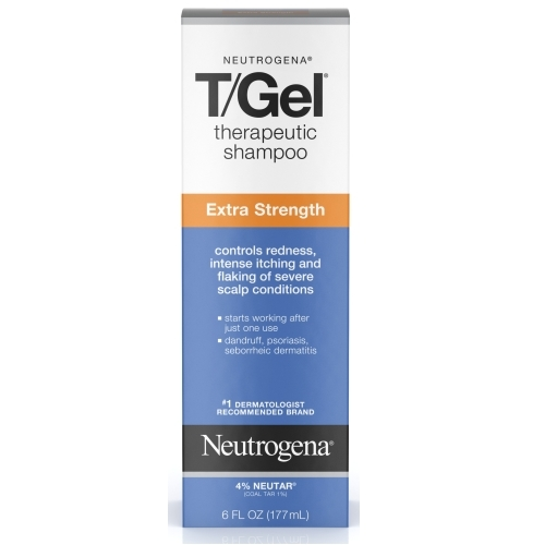 露德清 T/GEL超強洗髮精NeutrogenaR T/GelR Shampoo Extra Strength 6.0 fl. oz.(177ml)